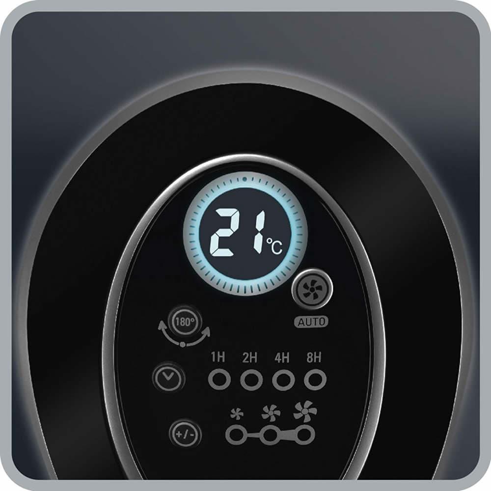 indicador de temperatura del rowenta vu6670f0