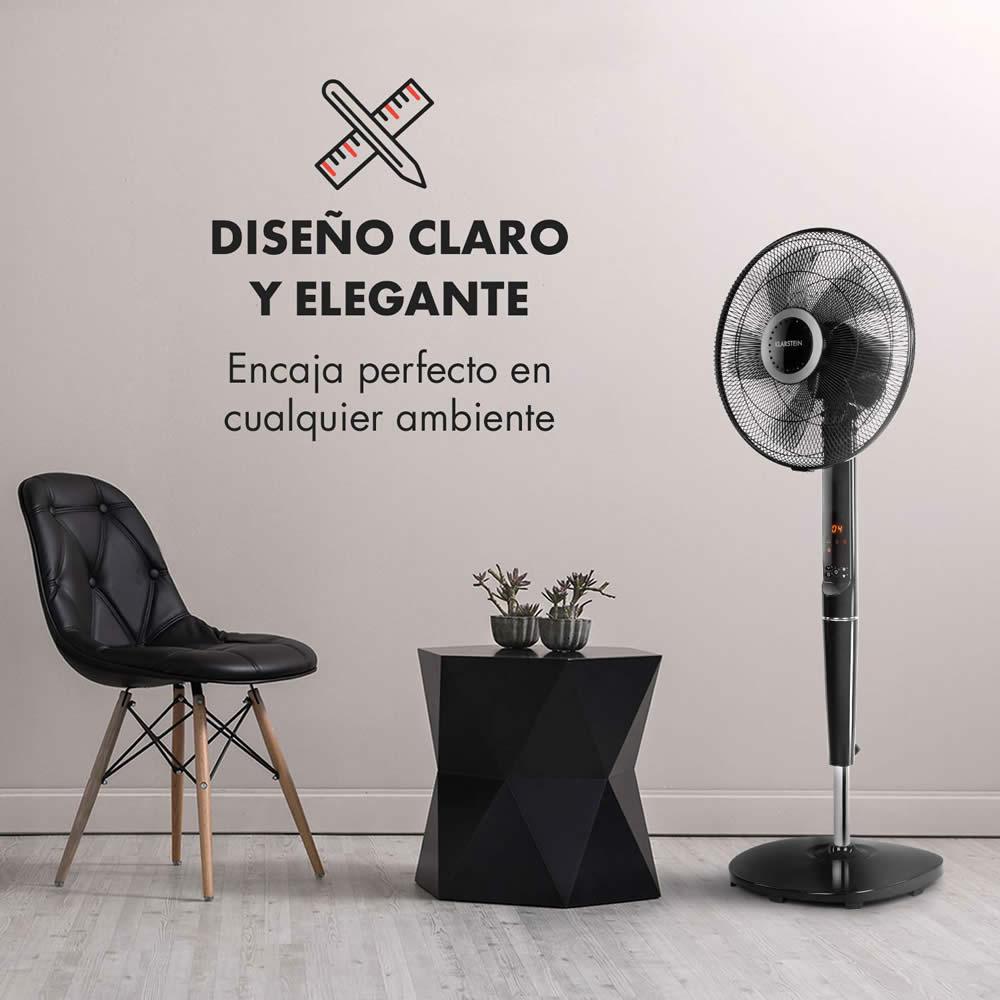 klarstein silent storm diseño elegante