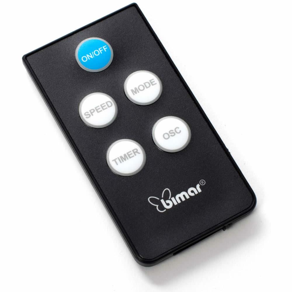 mando a distancia del ventilador bimar vps40
